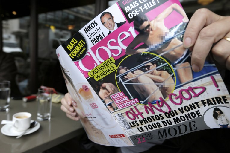 Photos de Kate Middleton seins nus dans Closer: la justice tranche en appel